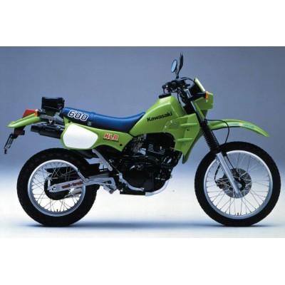 KLR 600 (Kick Starter) 1989-1991